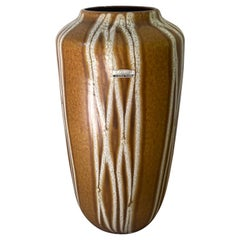 Large Ceramic Scheurich, West-Germany Vase, Europ Linie 517-38