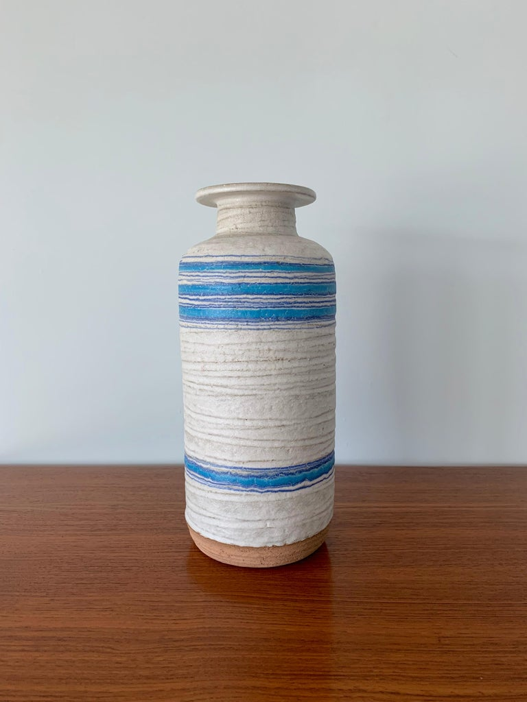 Large ceramic vase by Bitossi for Rosenthal Netter.