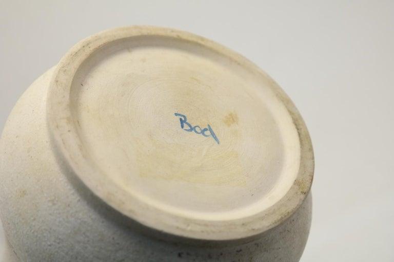 Large Ceramic Vase by Eva Bod, 1970s For Sale 2