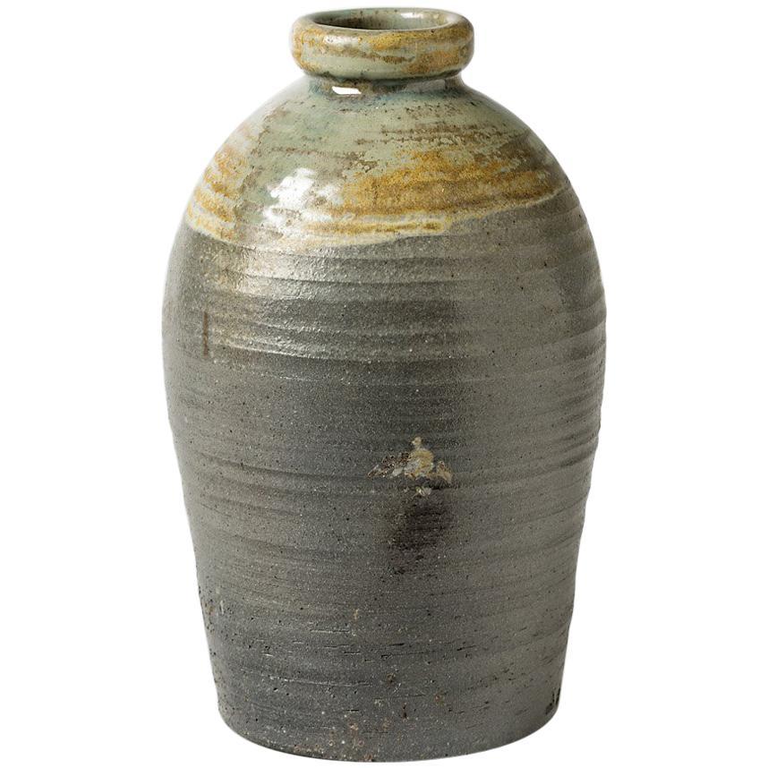 Large Ceramic Vase by Martin Hammond from La Borne, circa 1975