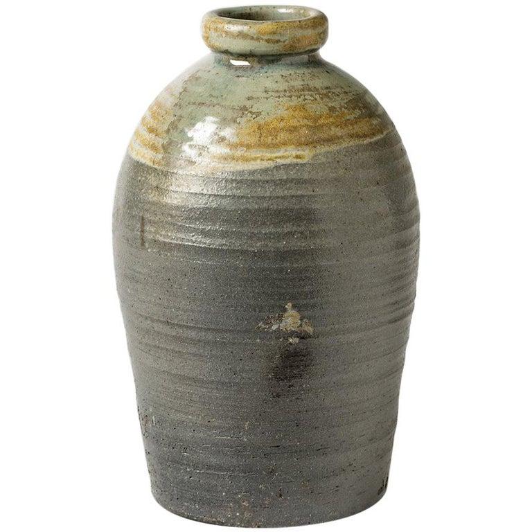 Large Ceramic Vase by Martin Hammond from La Borne, circa 1975 For Sale