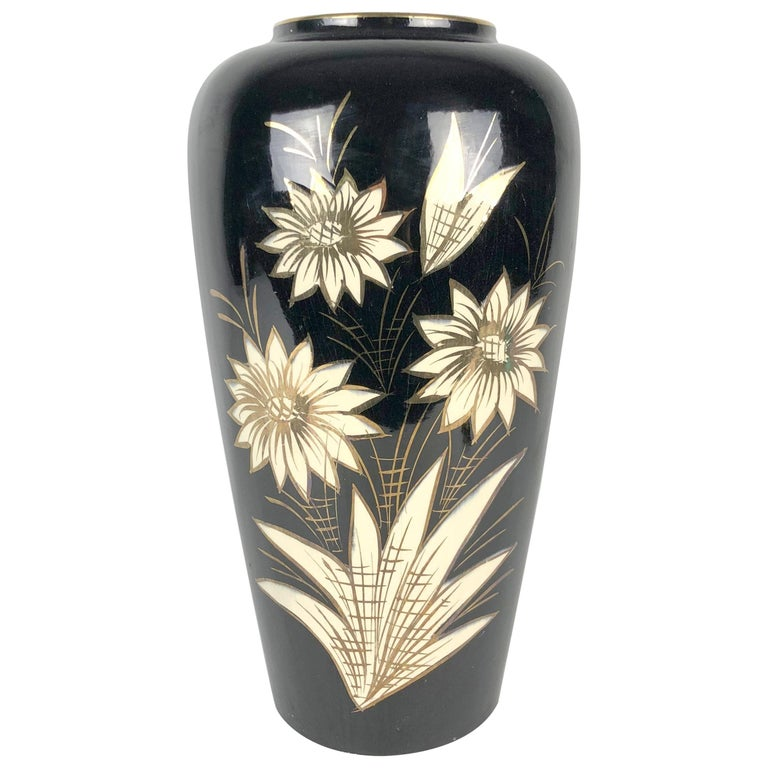 Large Ceramic Vase by Scheurich, Germany 1960s For Sale
