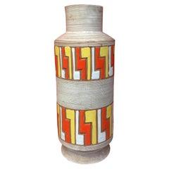 Large Ceramic Vase, Italy circa 1950