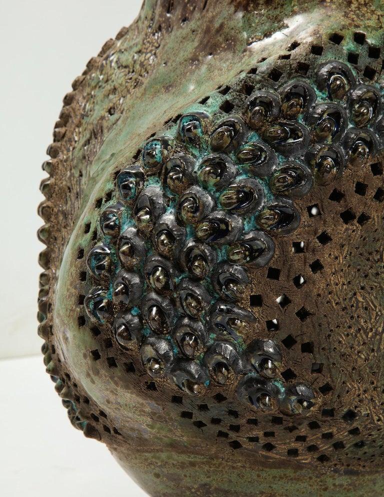 Large Ceramic Vessel by Dena Zemsky For Sale 1