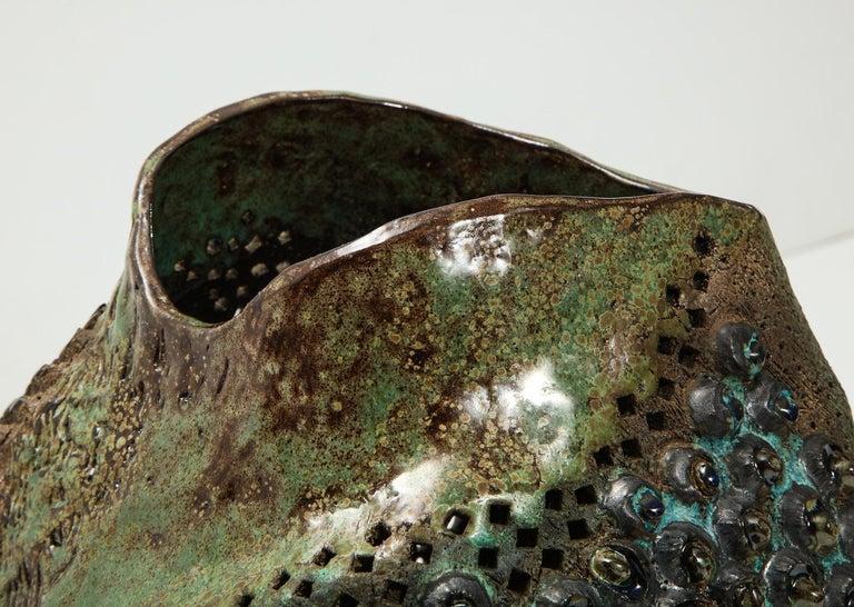 Large Ceramic Vessel by Dena Zemsky For Sale 2