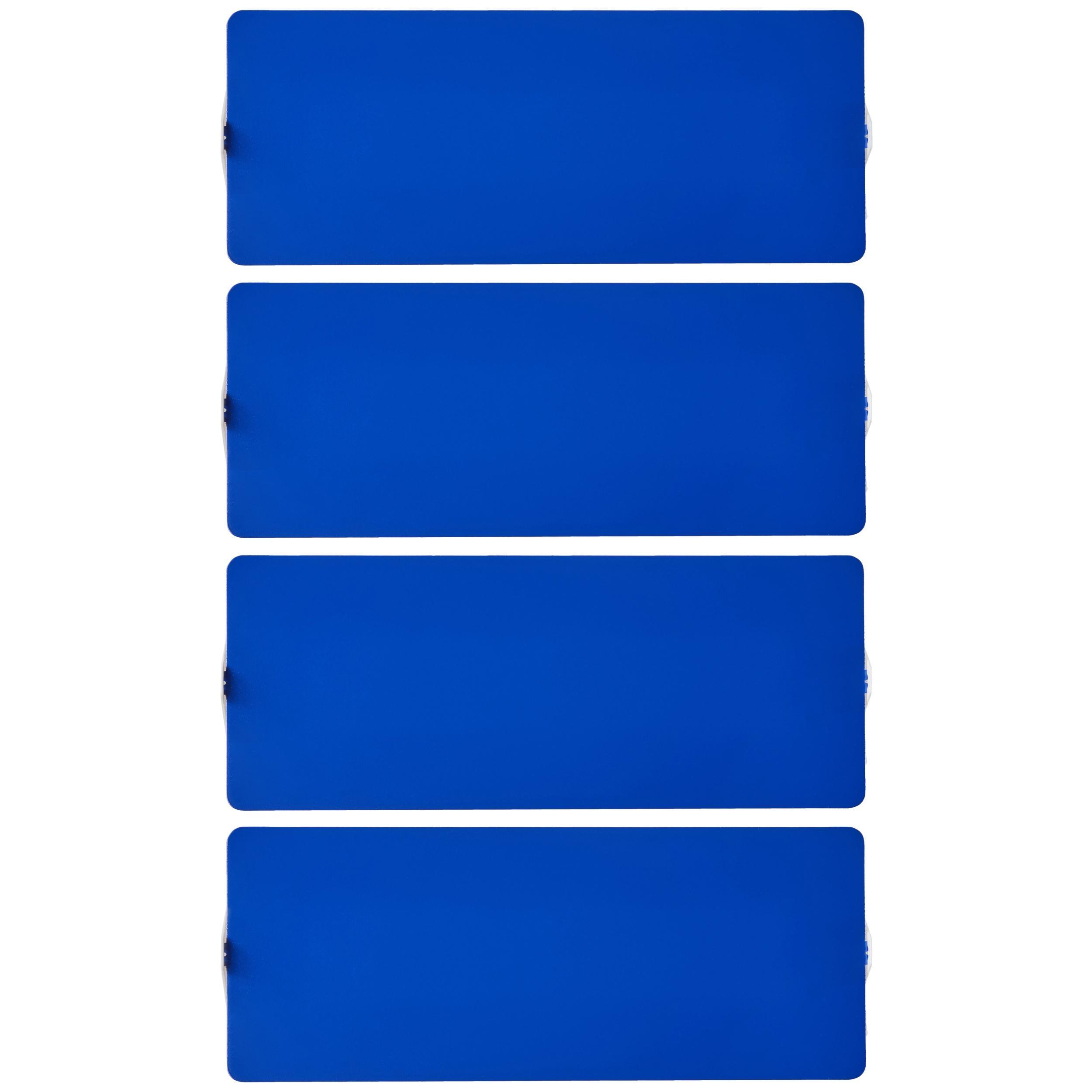 Large Charlotte Perriand 'Applique À Volet Pivotant Double' Blue Wall Lights
