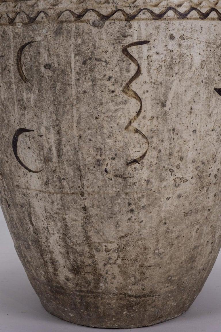 Chinese Export Large Chinese Cizhou Stoneware Wine Jar For Sale