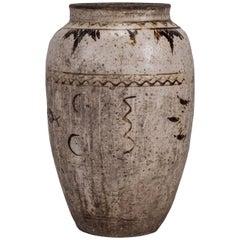 Large Chinese Cizhou Stoneware Wine Jar
