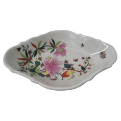 Large Chinese Export Catchall Oval Decorative Dish
