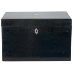 Large Chinese Export Cigar Humidor