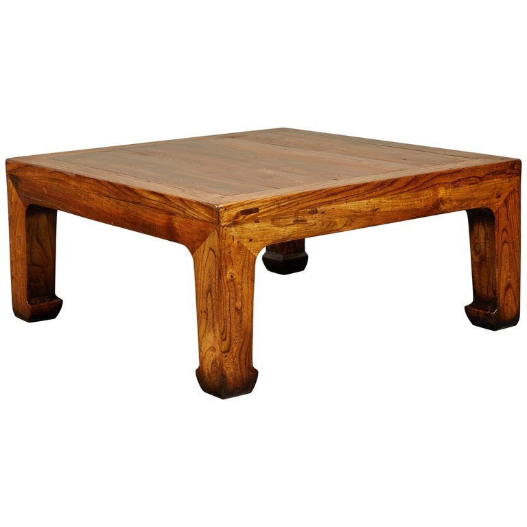Large Chinese Square Coffee Table For Sale At 1stdibs