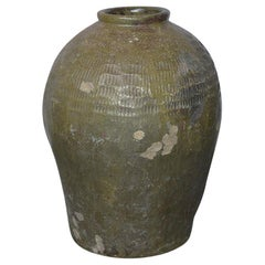 Large Chinese Wine Storage Jar