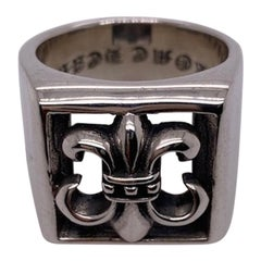Large Chrome Hearts Sterling Ring
