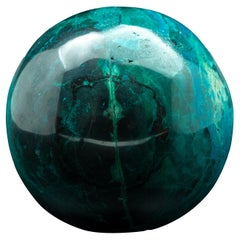 Large Chrysocolla Sphere