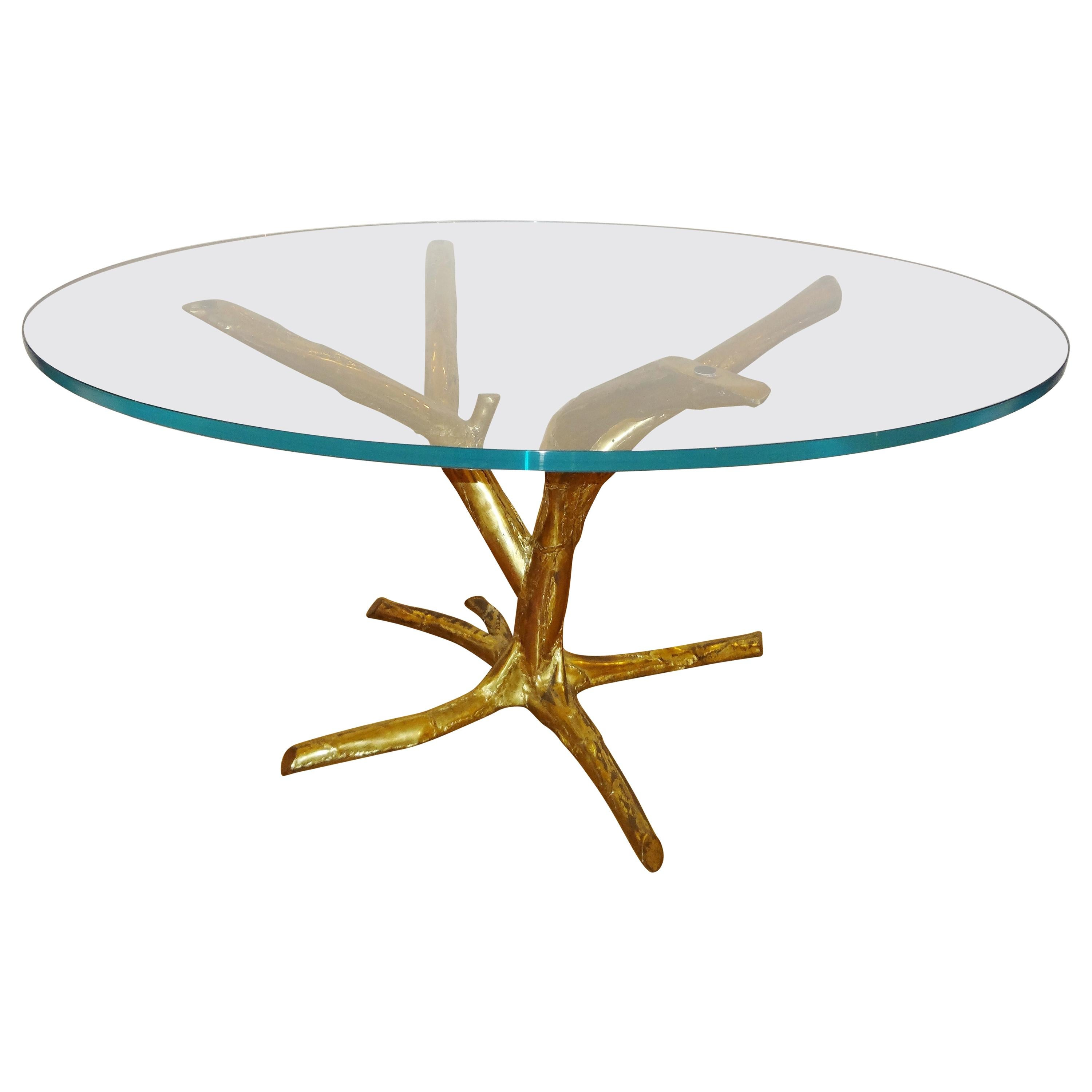Large Circular Table by J. Duval Brasseur, 1982