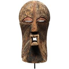 Large Classic Songye Kifwebe Mask, Ex Larenmans, Davy Early 20th Century Congo