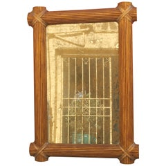 Large Classical Regency Framed Mirror