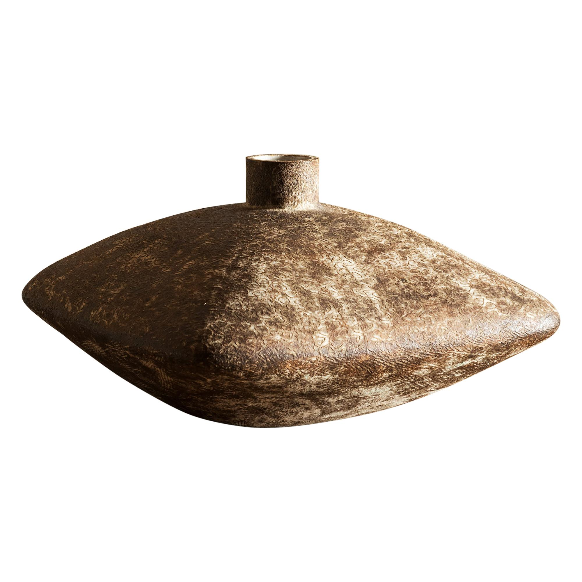 """Large Claude Conover Vase Entitled """"Metl"""", 1960s"""