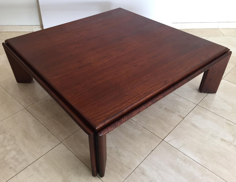 Large Coffee Table by Afra and Tobia Scarpa, Italy For Sale 7