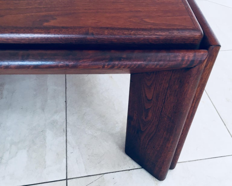 Large Coffee Table by Afra and Tobia Scarpa, Italy For Sale 8