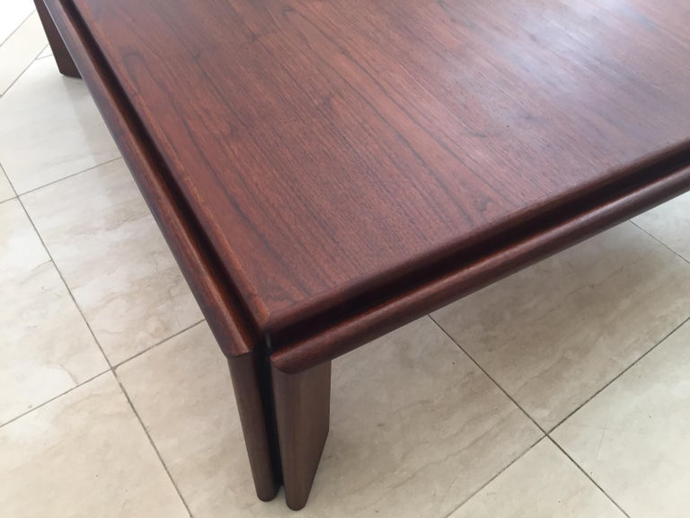 Large Coffee Table by Afra and Tobia Scarpa, Italy For Sale 2