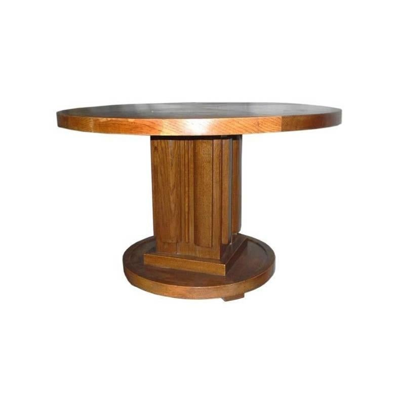 Large Coffee Table by Charles Dudouyt