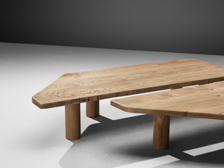 Beech Large Coffee Table in Ash For Sale