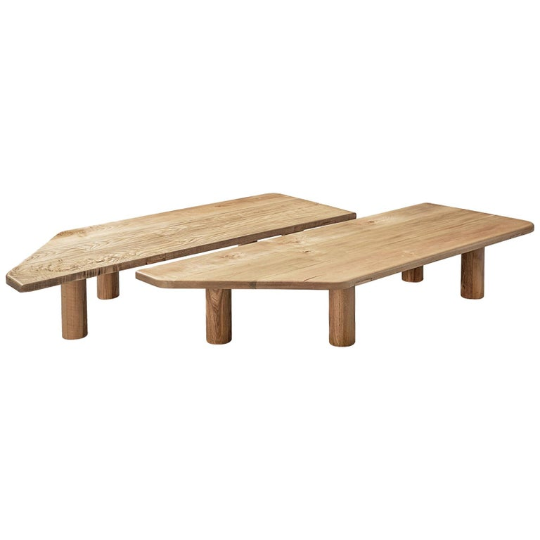 Large Coffee Table in Ash For Sale