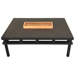 Large Coffee Table or Magazine Rack by Robsjohn-Gibbings for Widdicomb