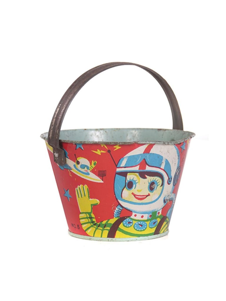 Large Collection of Antique Toy Pails For Sale 1