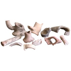 Large Collection of Romano British Pottery Fragments