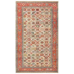 Large Colorful Antique Persian Serapi Rug. Size: 10 ft 5 in x 17 ft 4 in
