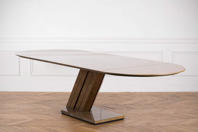 Large Conference Table by Giovanni Offredi for Saporiti, 1970s For Sale 7