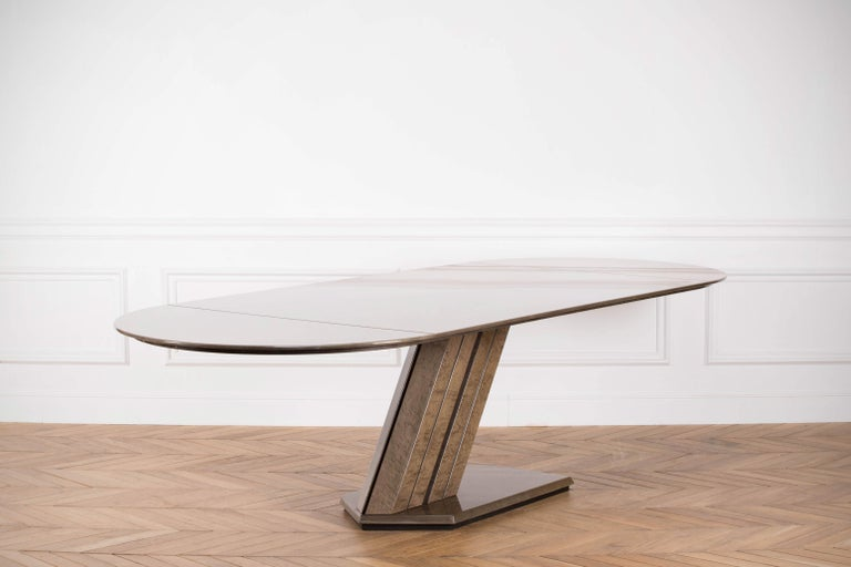 Large Conference Table by Giovanni Offredi for Saporiti, 1970s For Sale 2