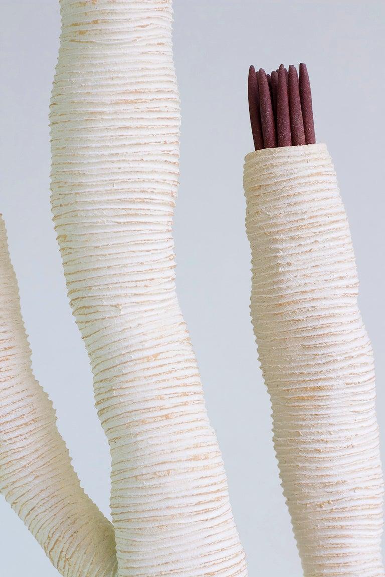 Large Contemporary Ceramic Coral Sculpture, Grand Corail For Sale 1