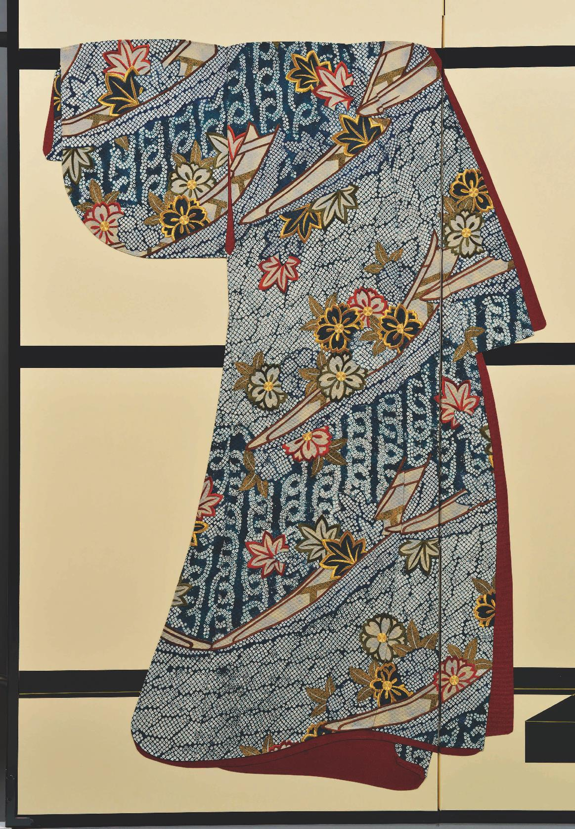 Active Vintage Chinese Silk Embroidery Two Panel Screen Asian Antiques