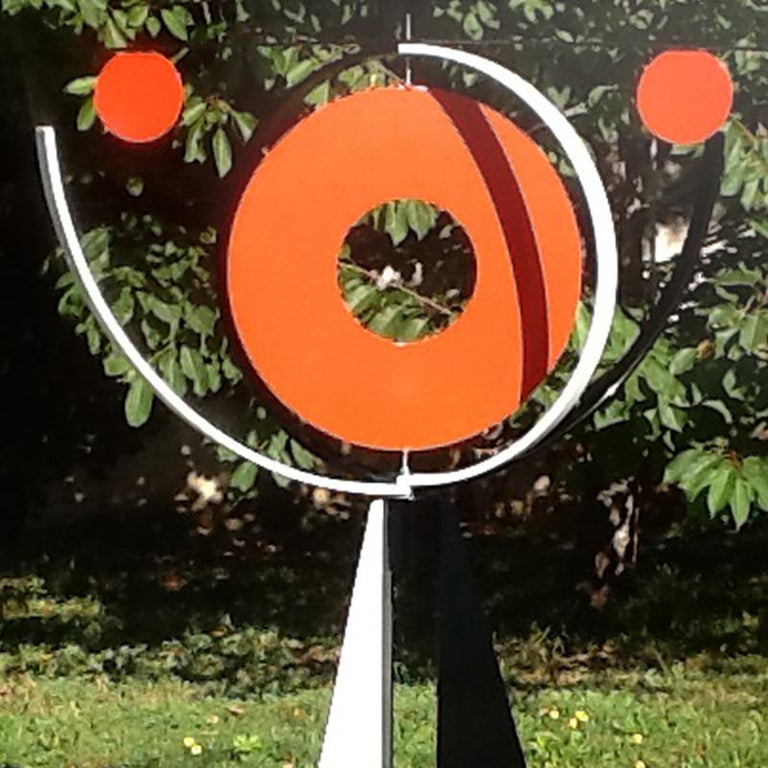 Mid-Century Modern Large Contemporary Modern Sculpture Mobile For Sale