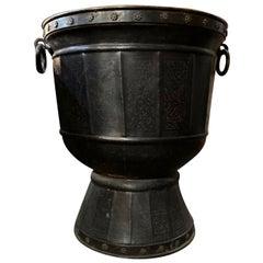 Large Copper Alloy Urn