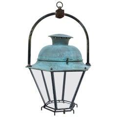 Large Copper French Lantern