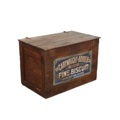 Large Crate with Advertising