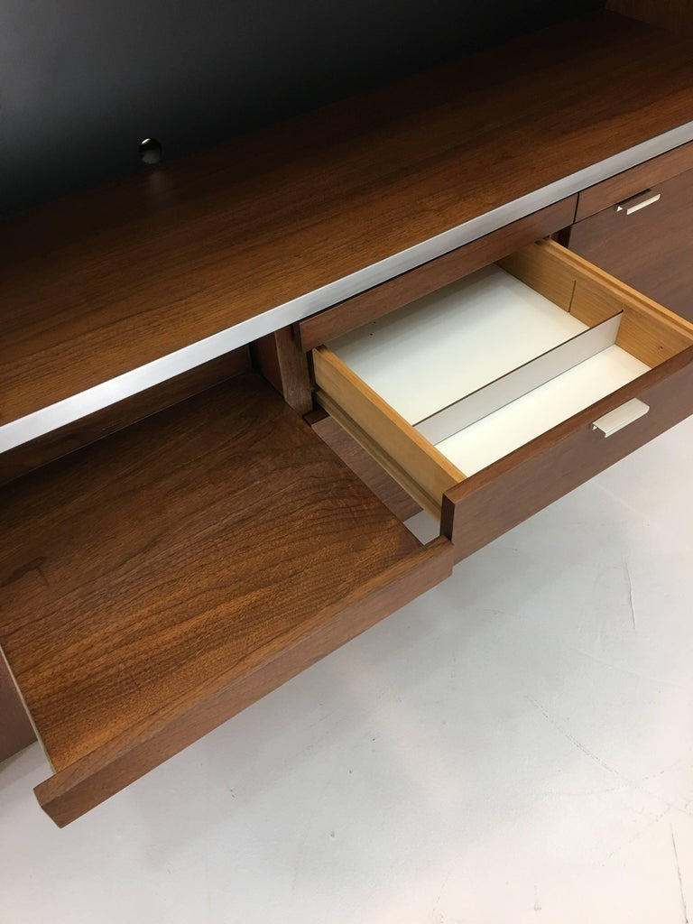 Large Credenza Cabinet by George Nelson for Herman Miller For Sale 3