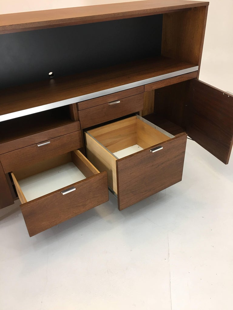 Large Credenza Cabinet by George Nelson for Herman Miller For Sale 4