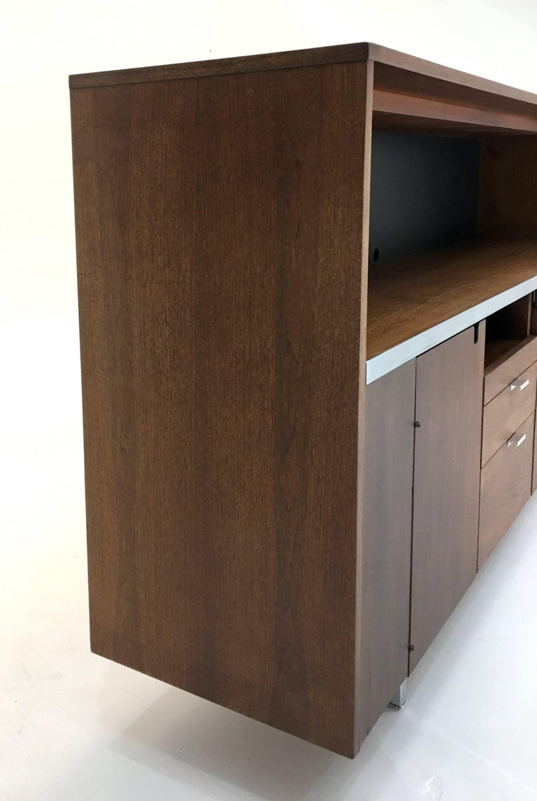 Large Credenza Cabinet by George Nelson for Herman Miller For Sale 9