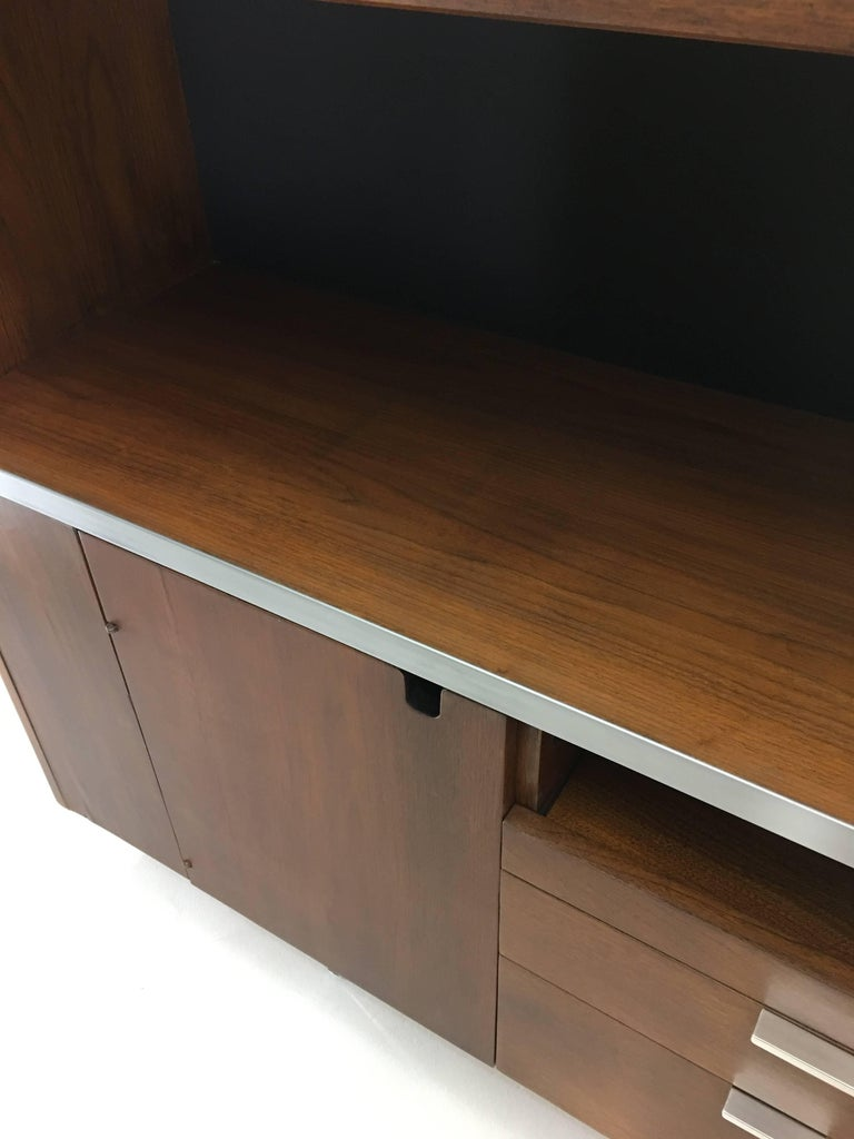 Large Credenza Cabinet by George Nelson for Herman Miller For Sale 10