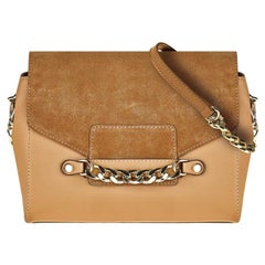 Large Crossbody - Camel Leather Handbag