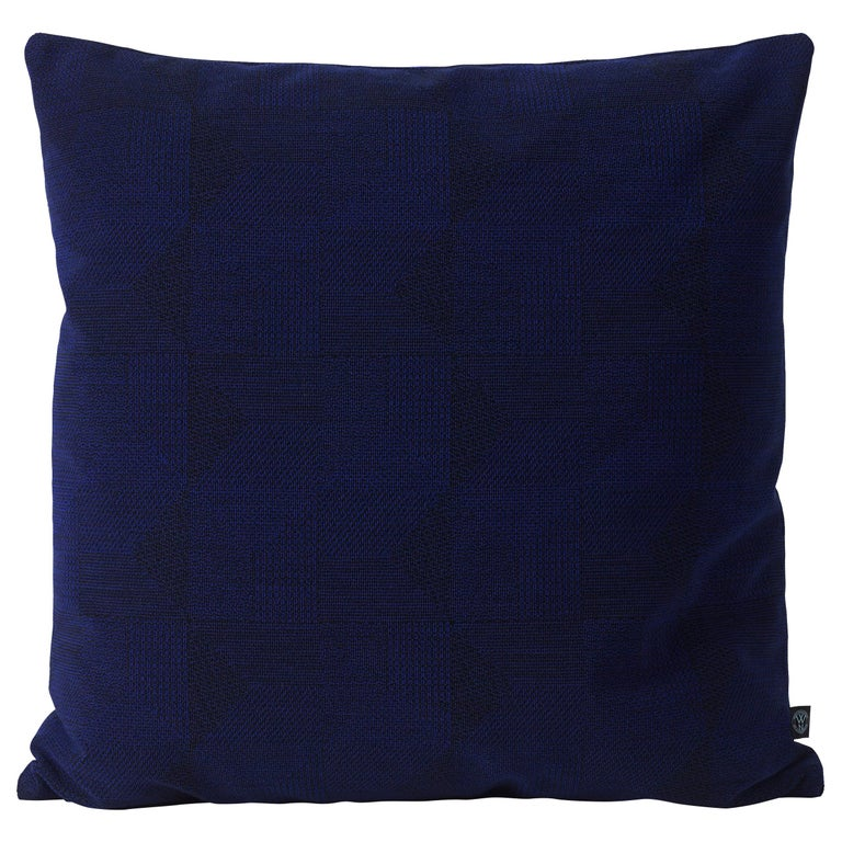 Large Crystal Field Square Cushion or Throw Pillow by Warm Nordic For Sale