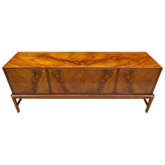 Large Danish Early Midcentury Sideboard Credenza by Frits Henningsen