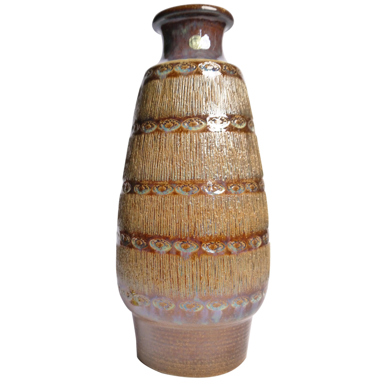 Large Danish Modern Soholm Ceramic Vase, 1960s