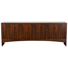 Large Danish Rosewood Credenza by A/S Randers Mobelfabrik, 1960s