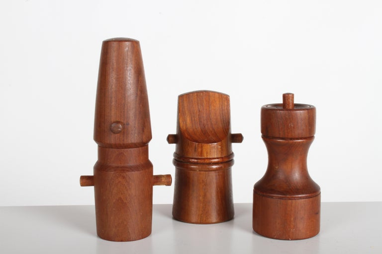 Large Dansk Collection of Pepper Mills and Salt Shakers, IHQ For Sale 4